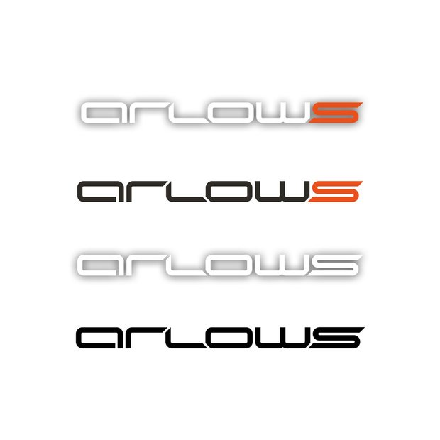 Arlows Logo Sticker